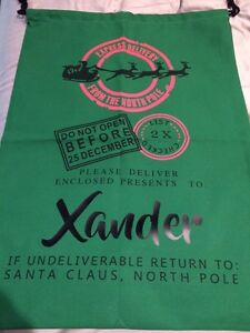 Personalized Santa Sacks! No more wrapping paper! Windsor Region Ontario image 3