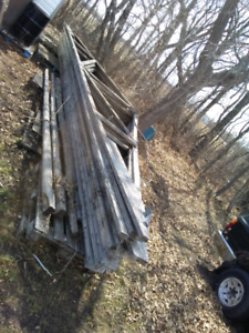 Roof rafters $75