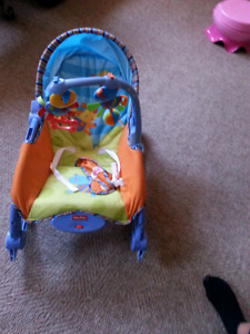 Fisher price baby lounge chair