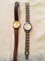 Two ladies watches