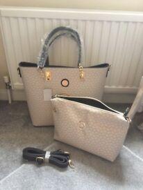 Michael Kors handbag and washbag
