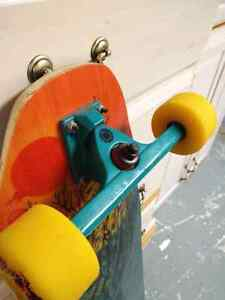 Rayne Longboard w/ caliber trucks and cult classics. Windsor Region Ontario image 6