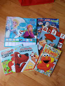Kids book lot $15