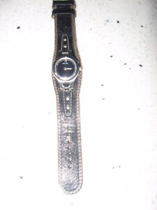 New Fossil Leather Strap Watch