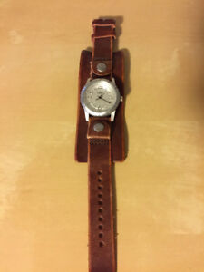 Fossil Watch (Leather Band)