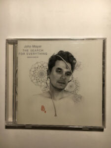 John Mayer CD The Search for Everything Brand New