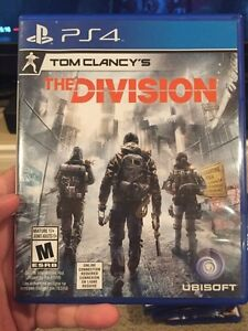PS4 The Division (Mint Condition)