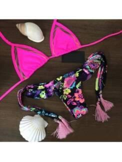 Sexy Fun Hot Pink Two Piece Bikini Set Parramatta Park Cairns City Preview