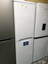 Indesit fridge freezer with warranty at Recyk Appliances