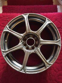 Wolfrace alloy wheels 17x7j multi fit