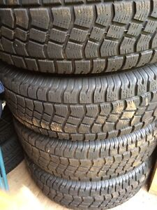 Winter tires and rims 245/75r16
