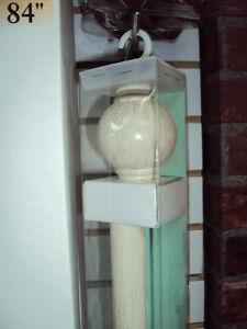 Supports magnétiques, anneaux à pinces, crochet/Poles et rideaux