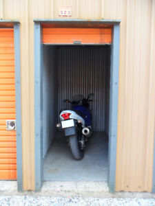 Indoor Motorcycle Storage only $50/month