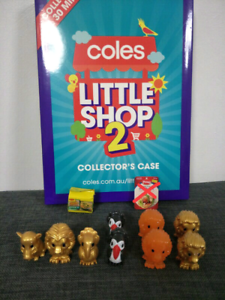coles little shop and ooshies swap/sale