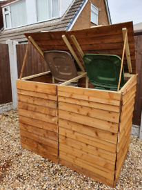 DOUBLE COMBO BIN STORAGE ASSEMBLED FREE LOCAL DELIVERY (ST HELENS)