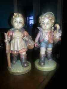 Brand new never put outside Hansel and Gretel lawn ornaments