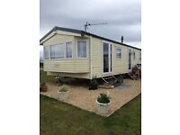 3 bed caravan at Silversands Lossiemouth