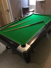 8ft supreme winner pool table