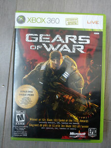 Gears of War for XBOX 360.  It plays as well on XBOX One.