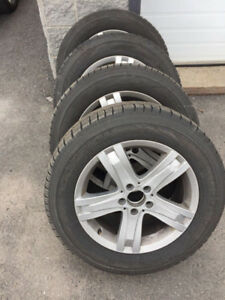 PIRELLI Winter Tires/Mags - Mercesdes GLK