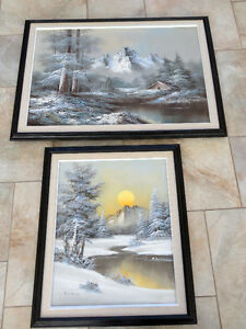 2 Large Paintings
