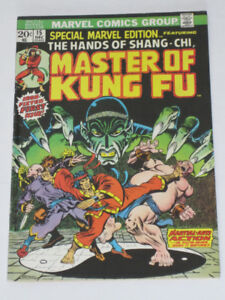 Special Marvel Edition#15 1st Master of Kung Fu! comic book