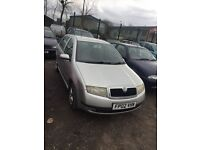 2002 Skoda Fabia cheap car