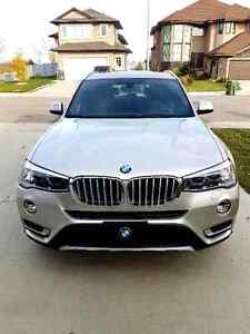 2016 BMW X3 xDrive 28i AWD w/ loaded options