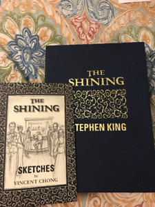 The Shining Stephen King Signed Subterranean Press