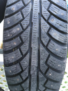 14 inch Studded tires!