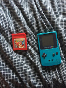 Working Game Boy Color with Pokemon Red