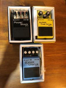 Boss Pedals $60 each or two for $100