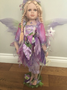 2 FT TOOTH FAIRY porcelain doll with box