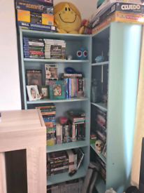 Set of two book shelves.
