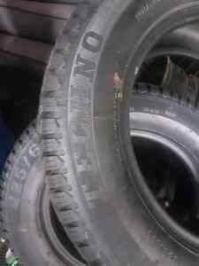 225/60 r16 snow tires brand new  Stratford Kitchener Area image 1