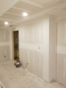 QUALITY WORK TAPPER ONLY! DRYWALL, PLASTER WORK FINISHER!