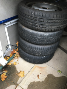 Winter tires 175-60-16 with rims