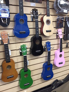Ukelele Selection!
