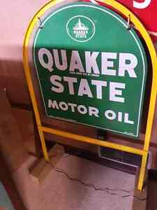 Quaker State tombstone sign Kitchener / Waterloo Kitchener Area image 2