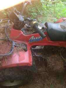 1986 quadrunner 250 4x4 full parts bike