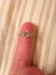 $11,200 1.30 Carat Diamond ring
