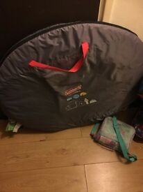 Coleman tent 4 man brand new take £45 cost £90
