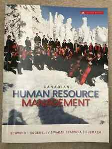 Canadian Human Resource Management 11th edition Textbook