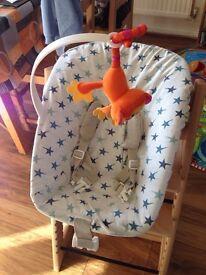 Stokke newborn attachment (for Tripp Trapp Chair)