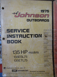 Service Instruction Book