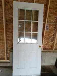 "32"" Exterior Insulated door with window"