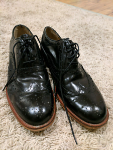 Ben Sherman black dress shoe size 42