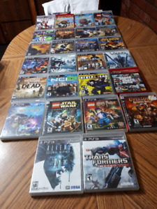 PS3 Games for sale $10 each