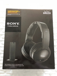 Sony RF Wireless Headphones - BRAND NEW