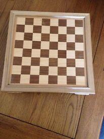 Chess/Checkers & Domino set